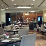GAD Restaurant...excellent breakfast buffet