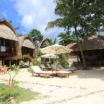 mola mola house is right on the beach with perfect ocean view