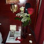 Flowers bedside