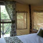 The luxury tented lodge