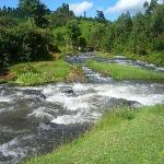 The confluence of River Mathioya & River Githugi