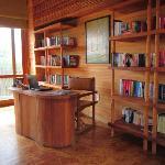 Library at Six Senses Con Dao