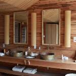 Stylish eco-friendly bathroom