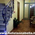 Hotel Annabella*** Florence - corridor and stairs to the roof terrace