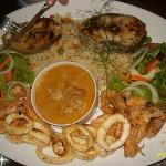 Seafood Platter - a must have.