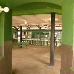 Entrance and lobby of Rickwood.
