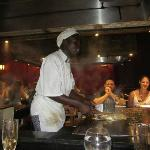 Japanese restaurant - chef (& entertainer)