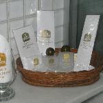 Complimentary bottles