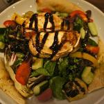 Yummy goat's cheese salad, Prezzo, Rugby