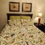 the wonderful bed and bed spread