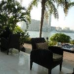 Breakfast on the banks of the Nile