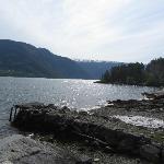 Beach in Solvorn