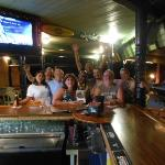 Friendly Vacationers at the bar!!!