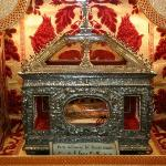 le reliquie di santa lucia di siracusa in occasione del gemellaggio del 2009