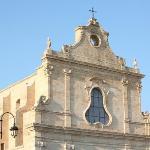 facciata principale della chiesa superiore