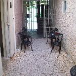 Open courtyard