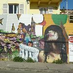 eines von vielen grafitti: Gemeinschaftswerk ?