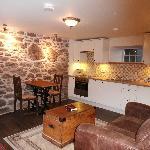 The Neuk lounge / kitchen