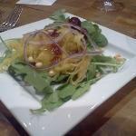 spaghetti squash salad at Ommegang