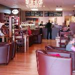 Relax,unwind and enjoy a bite to eat in our comfy, spacious coffee house