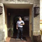 entrada al restaurante