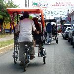 Rickshaws in Rivas ~ great way to see everything!