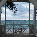 Wedding Gazebo from Beach