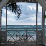 Wedding Gazebo from Beach