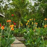 Flower Garden on grounds