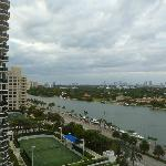 View from Room 1416 of Intracoastal