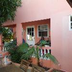 Entrance to the Mango Rental