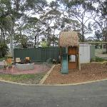 Wood Fired Grill & Child's Play Area