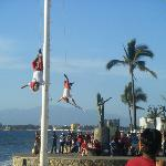 Malecon...always lots of free entertainment