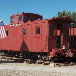 Uintah Railway Caboose