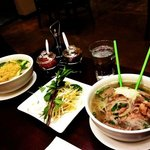 House Special Pho and Wonton Soup w/ Egg Noodles.
