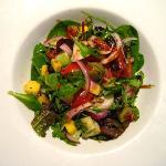 Side salad - a steal at 3.5 euros!