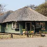 Reception at Hwange Main Camp