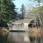 Covered bridge at Old Sturbridge Village