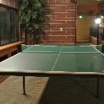Game for a round of table tennis?
