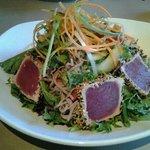 ON LUNCH MENU Asian Ahi Tuna Salad