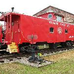 ACL caboose static display