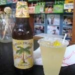 The drinks we got, Husband got a local beer & I had a Margarita. They were DELICIOUS!!!!!!