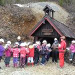 Outside the Old Mine.