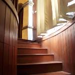 Stairways leading to the suite room
