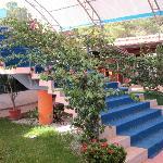 Scala centrale alla sala esterna