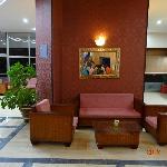 Reception area and lobby