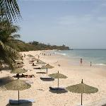 La plage de référence de Dakar