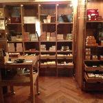 Cigar shop inside Havana bar