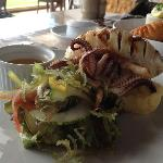 The best grilled squid ever!