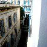 vue de ma fenêtre au troisième étage